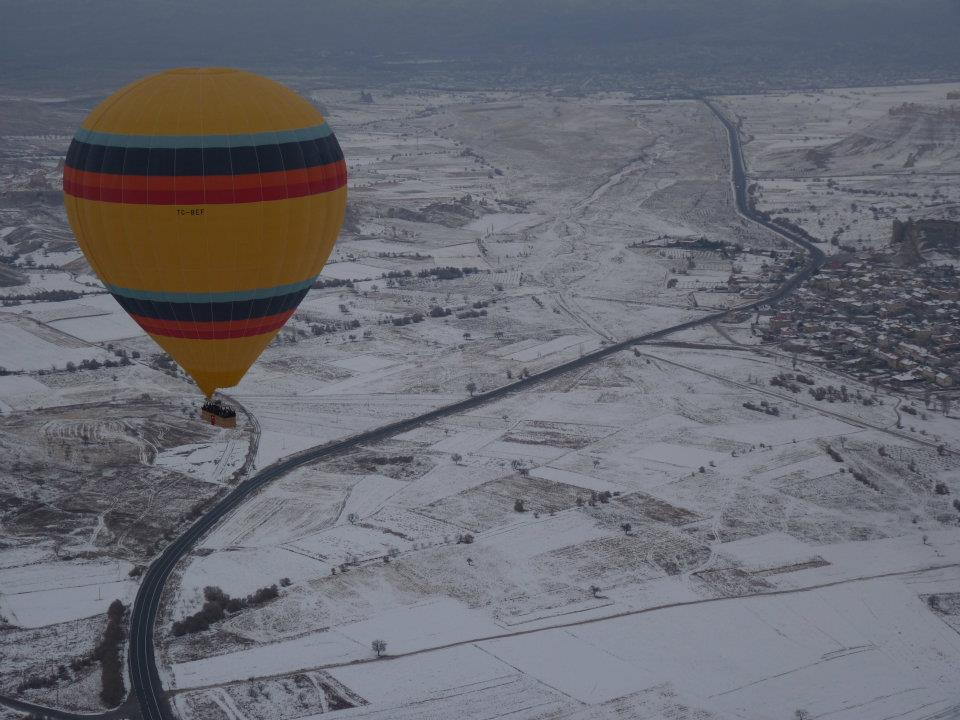 Winter Ballooning