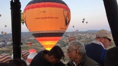 How much is a Hot Air Balloon in Cappadocia?