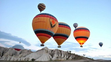 Flying With a Hot Air Balloon in Cappadocia