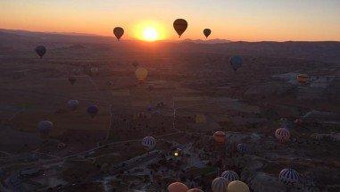 When do balloons fly in Cappadocia?