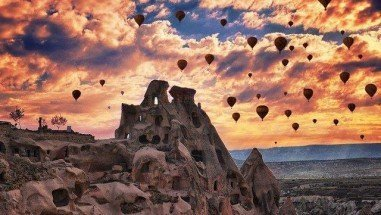 Cappadocia has been on the UNESCO World Heritage List since 1985
