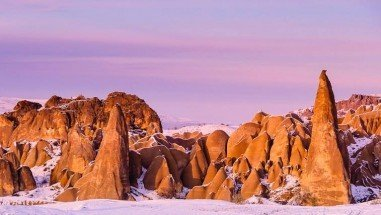 Red Valley in Cappadocia