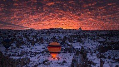 Discover Cappadocia in 4-season with Hot Air Balloons.