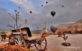 Cappadocia Balloon Goreme valley