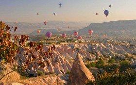 Cappadocia Hot Air Balloon Colorfully