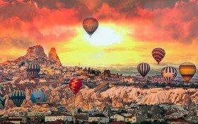 Cappadocia Balloon Colorfully