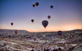 Cappadocia Göreme Balloon Colorfully